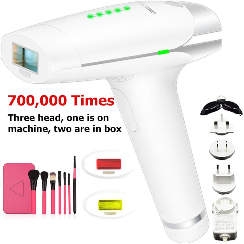 Здесь можно купить  Replaceable 700000 Flashes Lamp Head Lamp Laser Epilator Popular Permanent LESCOLTON Hair Removal Laser Epilator For Whole Body  Красота и здоровье