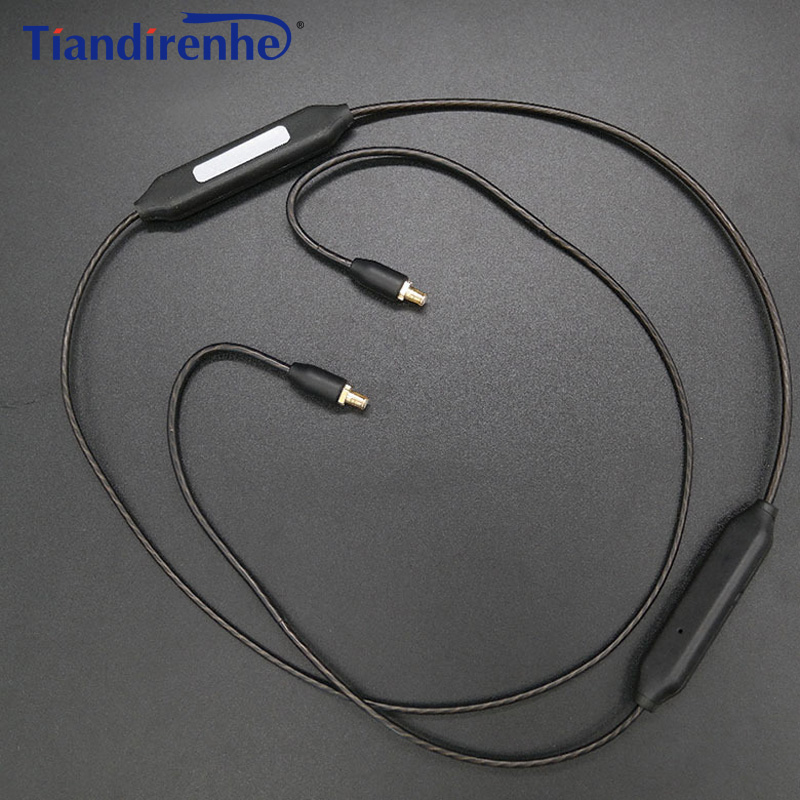 Newest APT-X A2DC Bluetooth Cable for CKS1100 E40 E50 E70 LS200 LS300 LS400 CKR90 CKR100 LS50 LS70 Headphone Silver Plating Line