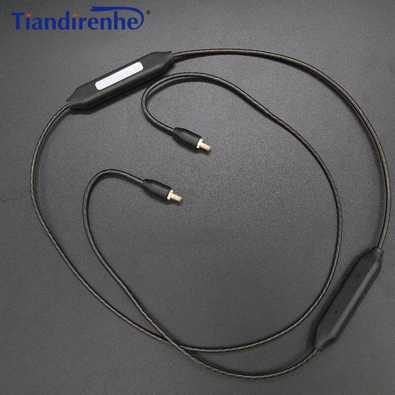 Più nuovo A2DC APT-X Bluetooth Cavo per CKS1100 E40 E50 E70 LS200 LS300 LS400 CKR90 CKR100 LS70 LS50 Cuffia Placcatura D'argento linea