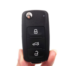 New 3 Buttons 202AD Remote Car Key 433MHZ For Volkswagen VW Lavida 753N