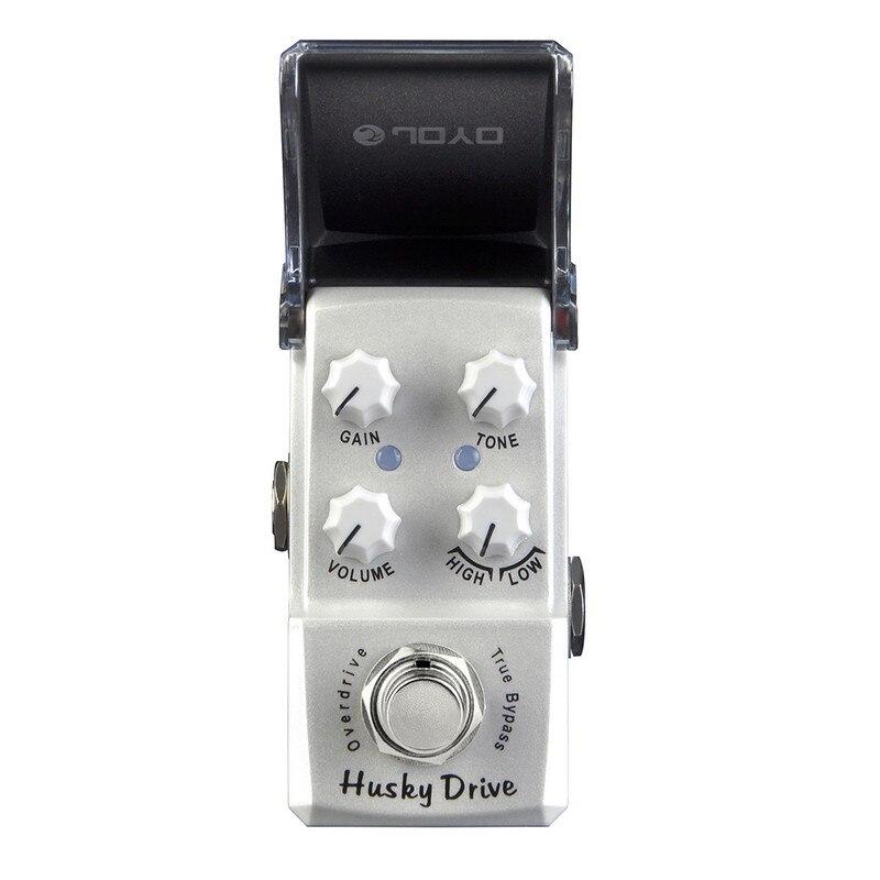 JOYO JF-314 Husky Drive Overdrive effet guitare pédale costume pour Blues Solo haute puissance lecteur Booster véritable contournement haut bas interrupteur