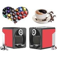 220 V automática nespresso cápsula máquina de café com alta qualidade 19 bar ULKA bomba|coffee making machine|coffee machinecapsule coffee machine -