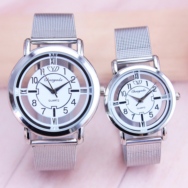 men women couples high quality watch girls hollow holiday gifts watch luxury ult