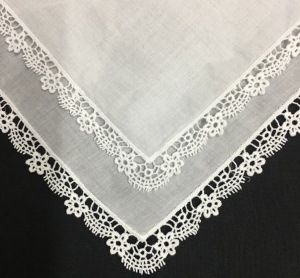 Set Of 12 Fashion Ladies Handkerchiefs Perfect White Cotton Lace Wedding Bridal Hankies Hanky  For Mother Of The Bride's 12