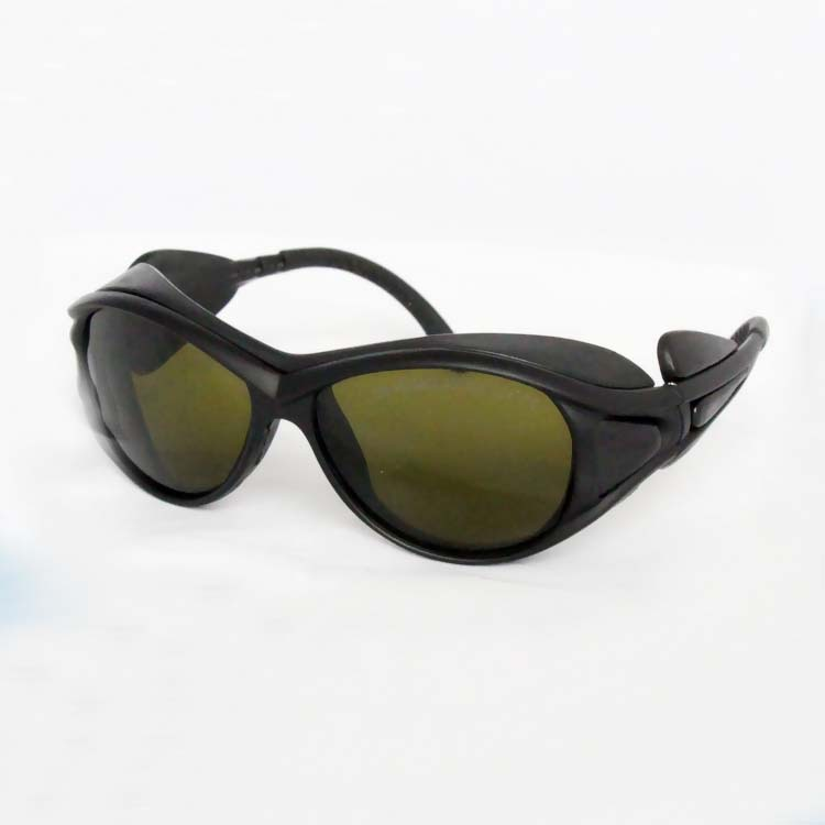 laser safety glasses FOR 190 450nm 800 2000nm O D 4 for 266 355 405 450 808 980 1064 1470nm lasers CE High VLT in Safety Goggles from Security Protection
