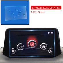Pcmos 2019 عرض سيارة جديدة الزجاج المقسى واقي للشاشة يصلح لمازدا 3 Axela 2017 2018 ملصقات السيارات Accessories16.9 * 10 سنتيمتر