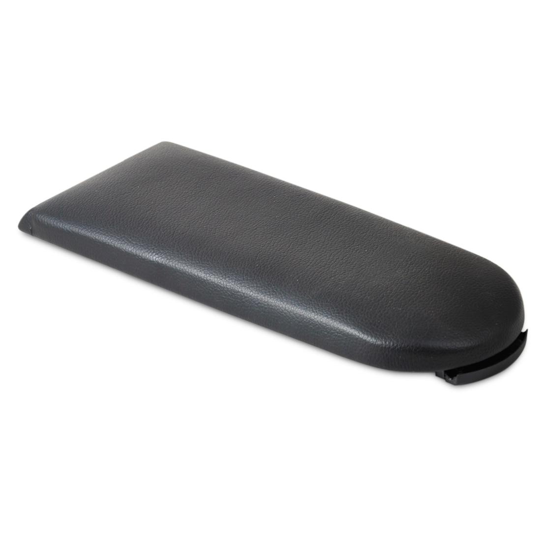 beler Car Accessories Black Leather Center Console Armrest <font><b>Cover</b></font> Lid For VW Jetta Golf MK4 Beetle Bora Passat B5 Skoda Octavia