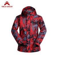 スノーボードスキージャケット屋外服ヨーロッパとアメリカンスタイル熱防風雪のジャケット防水暖かいスキーコー