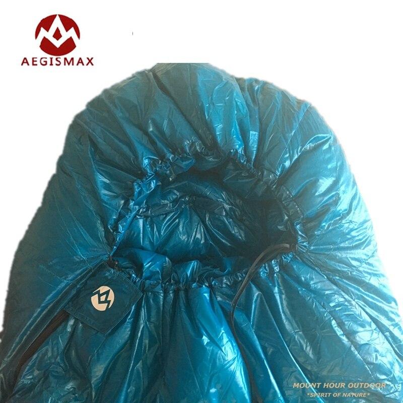 AEGISMAX Mumiengans Daunenschlafsack Bequeme Reisetasche Für Den Außenbereich