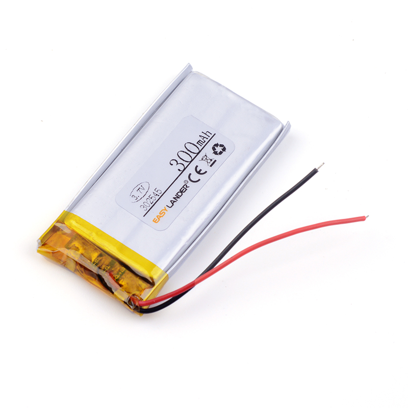 3.7v Lithium Ion Rechargeable Battery 302545 300MAH MP3MP4 Dedicated Bluetooth Speakers032545