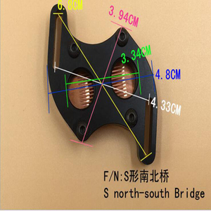 Image 4 - Beiqiao מים קירור ראש דרום צפון גשר מים קירור Waterblock עם G1/4 עבור מחשב מים קירור