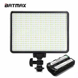 396 светильник со светодиодными лампами двухцветный и Диммируемый тонкий DSLR видео светодиодный светильник  F550 батарея  зарядное устройство...