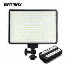 396 LED Video Light Photo Lighting on Camera Video Hotshoe LED Lamp Light&F550 Battery for Canon Nikon DV Camcorder DSLR Wedding