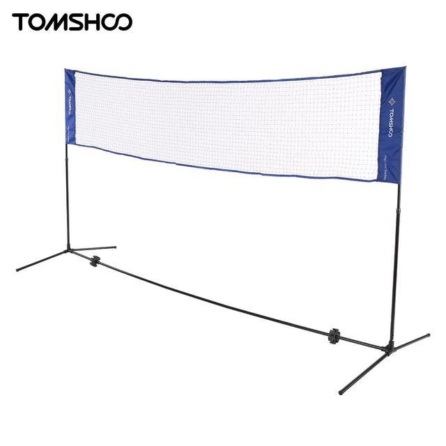 TOMSHOO Tennis Badminton Net System Indoor Outdoor Sports Volleyball ...