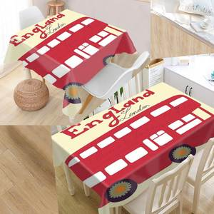 xxihlive Custom Fabric Rectangular Party Tablecloth
