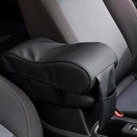 MALUOKASA Universal Armrest Box Mats Auto Car Armrest Pad Set PU Leather Styling Armrest Car Interior
