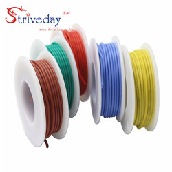 5 meters ( 16.4ft ) 18AWG Silicone stranded wire Cable Tinned copper Wire DIY Electronic wire 10 colors Can choose