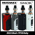 Original WISMEC Reuleaux RX2/3 Box Mod with SMOK TFV8 BABY Beast Atomizer 3ml Tank Capacity RX2/3 Temp Control Mod Ecig Full Kit
