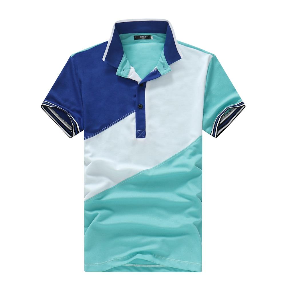 Mens 2018 New Mens Mens Polo Shirts Desiger Polo Mens Cotton Short-Sleeve Shirts golf tennis Plus Size- XXL