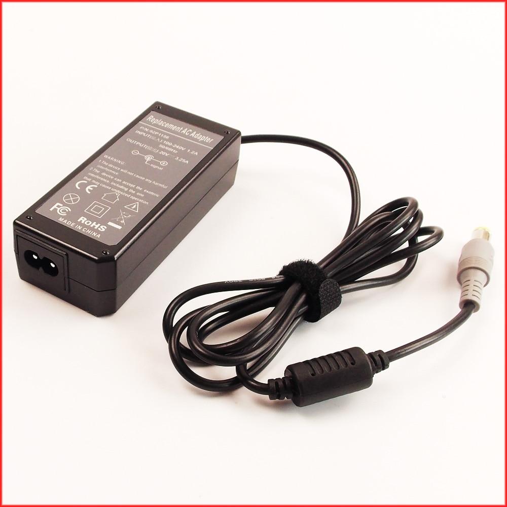 20 В 3.25a 65 Вт ноутбук адаптер переменного тока Зарядное устройство для IBM/Lenovo/Thinkpad 42t4418 42t4419 42t4420 44t4421 42t4422 42t4423 42t5282