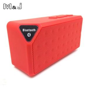 Image 5 - M & J Bluetooth スピーカー X3 Jambox スタイル TF USB FM ワイヤレスポータブル音楽サウンドボックスサブウーファースピーカーとマイクカイシャ · デ · ソム