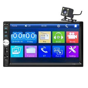 "Image 5 - 2 din car radio coche recorder Bluetooth 2din 12v Player 7"" HD Touch Screen MP3 MP5 auto Audio Stereo TF USB FM Autoradio 7012b"