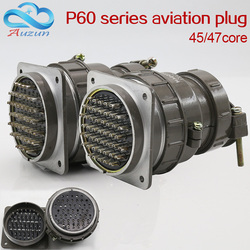 Wtyczka lotnicza gniazdo okrągłe złącze P60 serii 45core47core o średnicy 60MM wtyczka lotnicza