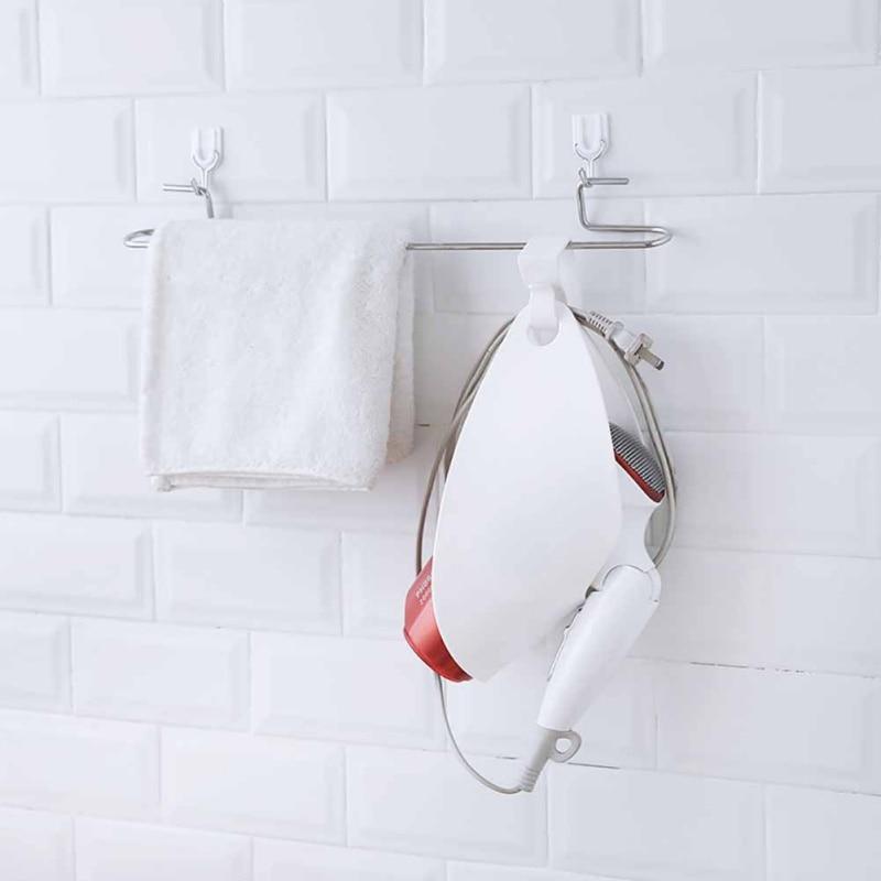 Hair Dryer Holder Stand Rack Shower Room Bathroom ...