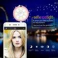 Nuevo lujo univesal multifunción mini altavoz + belleza selfie proyector de la lámpara led de luz de flash up selfie plug para iphone samsung