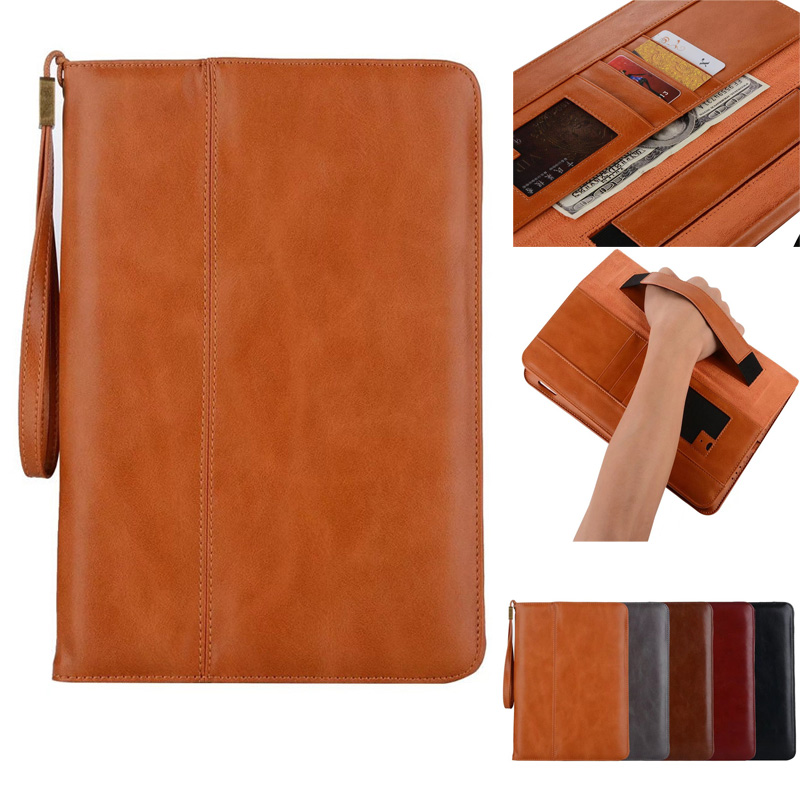 Vintage Leather Case For iPad Mini 1 2 3 4 Case Smart Sleep Awake Stand Briefcase Hand Belt Holder Flip Full Cover For iPad Mini