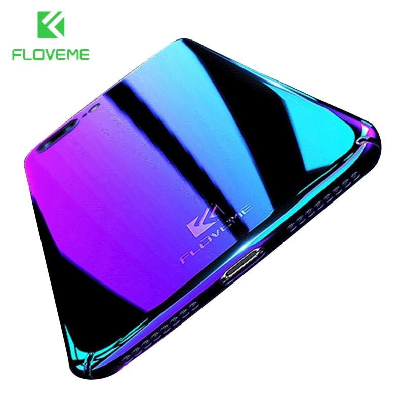FLOVEMEกรณีสำหรับiPhone 6 6วินาที7บวกปกสำหรับiPhone 7 6กรณีสำหรับiPhone X 5 5วินาทีSE 10ปกอุปกรณ์โทรศัพท์มือถือกระ