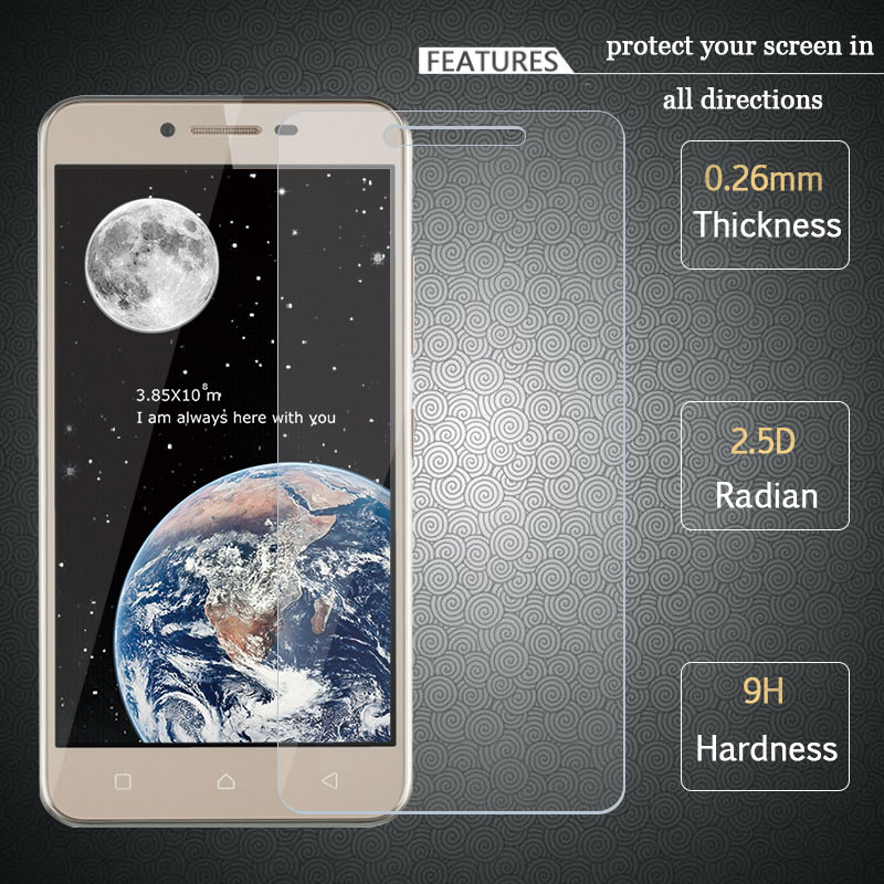 For Lenovo K5 Tempered Glass 2.5D 9H Premium Screen Protector Protective Film for Lenovo Vibe K5/ K5 Plus Lemon 3 A6020 5.0""