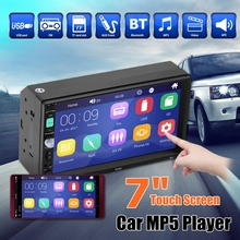 Car Radio 2 din 7 HD  Autoradio Multimedia Player 2DIN Touch Screen audio Car Stereo MP5 bluetooth USB TF FM Camera amprime android 2 din 7 hd car radio touch screen autoradio gps navigation multimedia mp5 player support wifi bluetooth usb fm