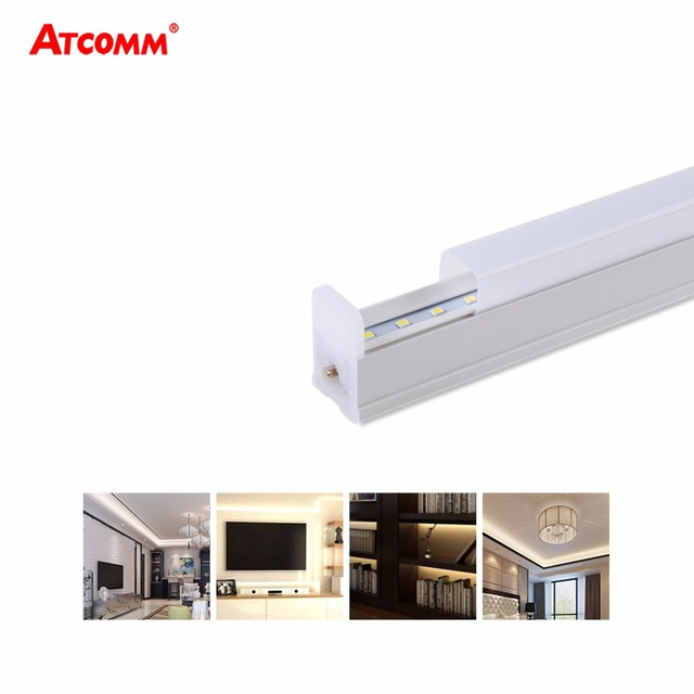 6W 10W T5 LED Tube 1FT 2FT High Lumen SMD 2835 T5 LED Light Bulb Cool/Warm/Natural White 2 pcs/Pack
