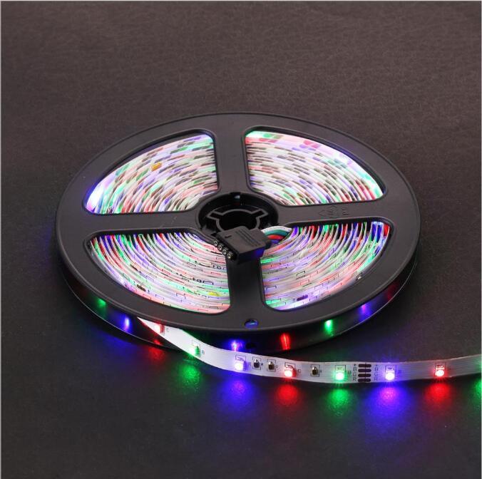 Tira de luz LED RGB impermeable IP65 60LEDs / m 5M 2835 SMD luces RGB - Iluminación LED - foto 3