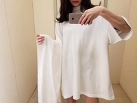 2018 Spring And Summer Women Fashion T Shirt With Big Sleeves