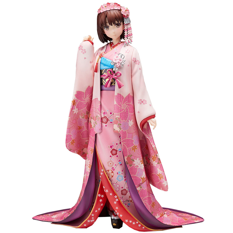 NEW 22cm Saenai Heroine no Sodatekata Katou Megumi kimono Action figure toys collection doll Christmas gift new hot 17cm avengers thor action figure toys collection christmas gift doll with box j h a c g