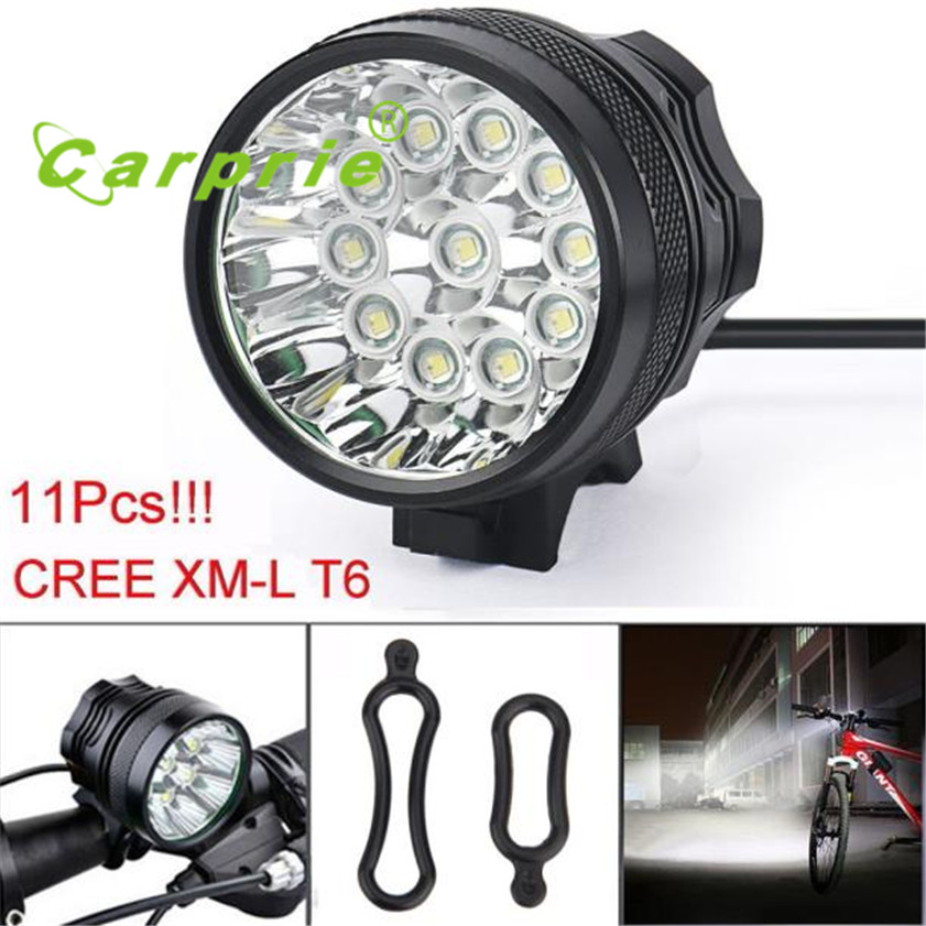 Super 28000LM 11 x CREE XM-L T6 LED 8 x 18650 Bicycle Cycling Light Waterproof Lamp cree xm l t6 bicycle light 6000lumens bike light 7modes torch zoomable led flashlight 18650 battery charger bicycle clip