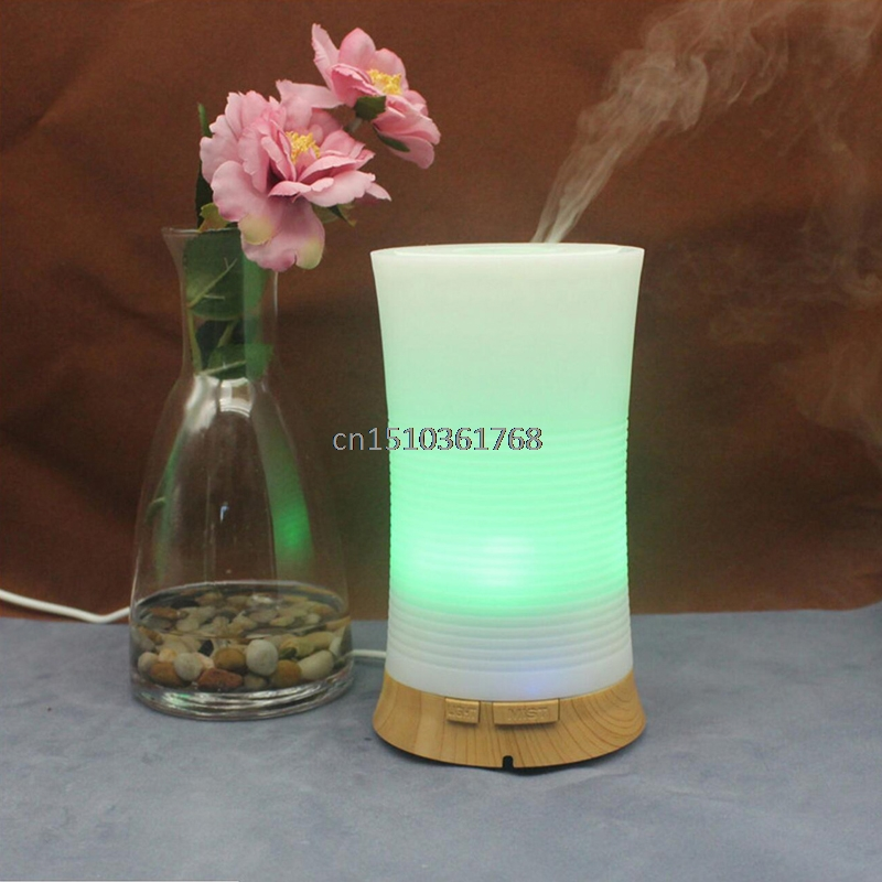 Essential Oil Aroma Diffuser Ultrasonic Humidifier Air Aromatherapy Atomizer LED #C05#