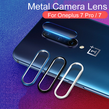 For One Plus 7 Pro Camera Metal Ring Len Glass For OnePlus 7 Pro Tempered Glass Screen Protector Full Film Lens For OnePlus7 Pro