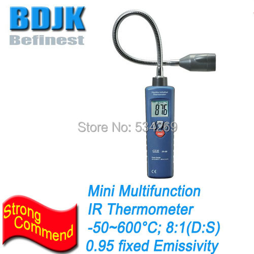 Multifunzione Termometri A Infrarossi Gamma-50 ~ 600 Professionale Strumenti di Temperatura IRMultifunzione Termometri A Infrarossi Gamma-50 ~ 600 Professionale Strumenti di Temperatura IR