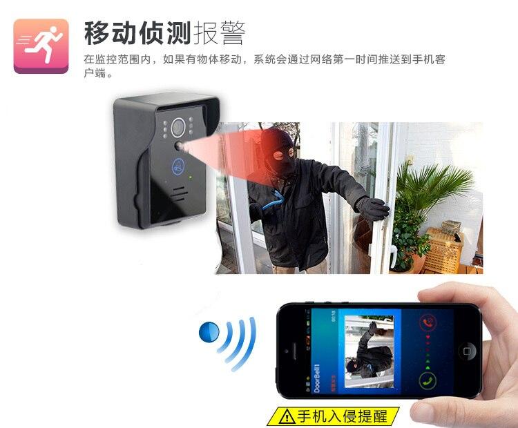 Wireless Intercom WIFI-Version Video-Türsprechanlage - Schutz und Sicherheit - Foto 6