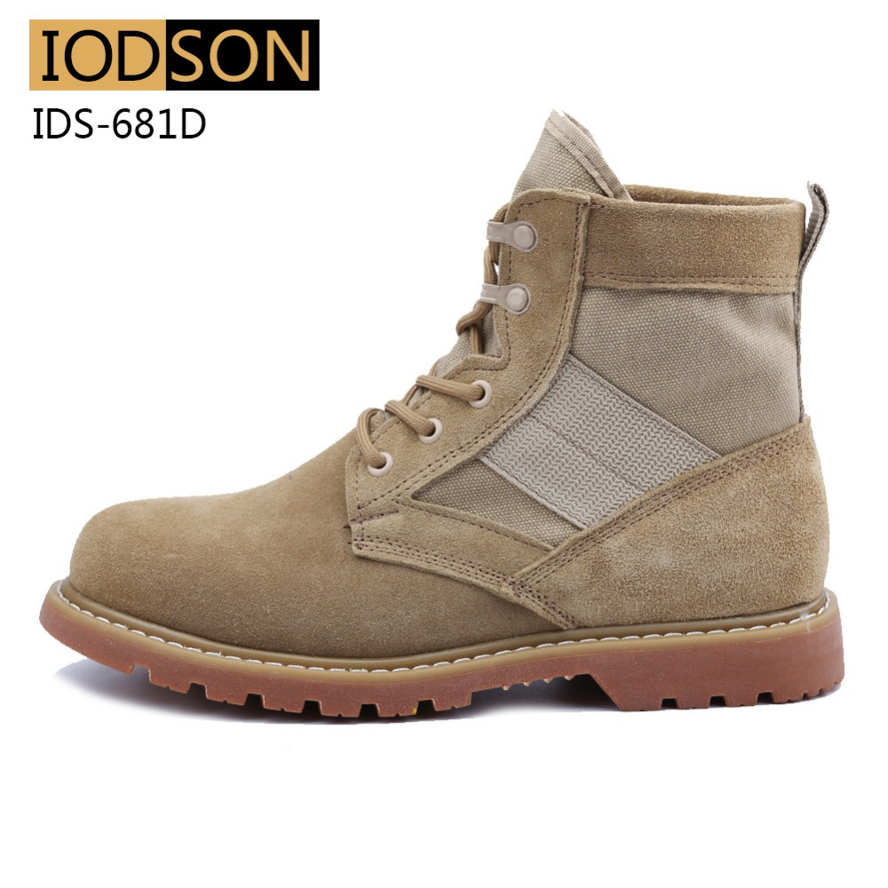 IDS-681D Vodootporne vojničke čizme Muškarci Vojne čizme - Muške cipele - Foto 2