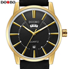 DOOBO Fashion Casual Wrist Golden Watch Men Watches Top Brand Male Clock Quartz Watch Business Quartz