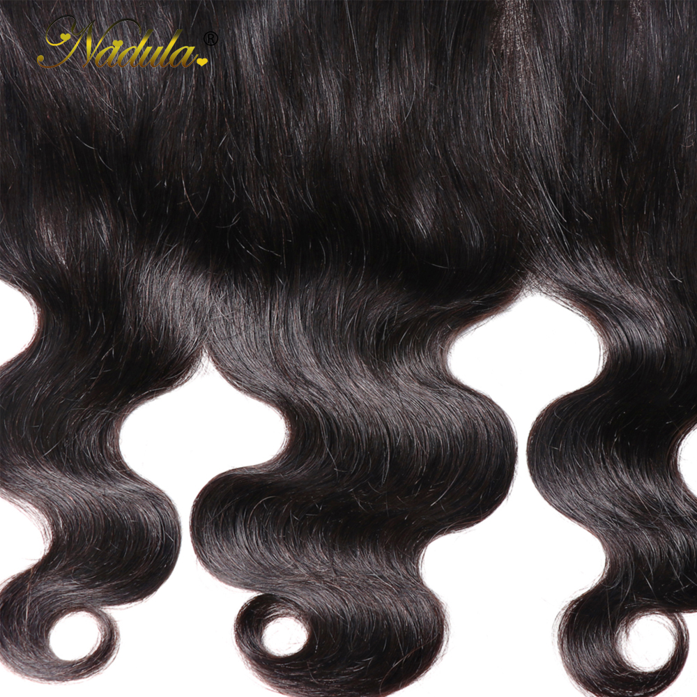 Nadula Hair 13X4 ear to ear Lace Frontal Closure  Body Wave  Frontal Free Part With Baby Hair  Hair 6