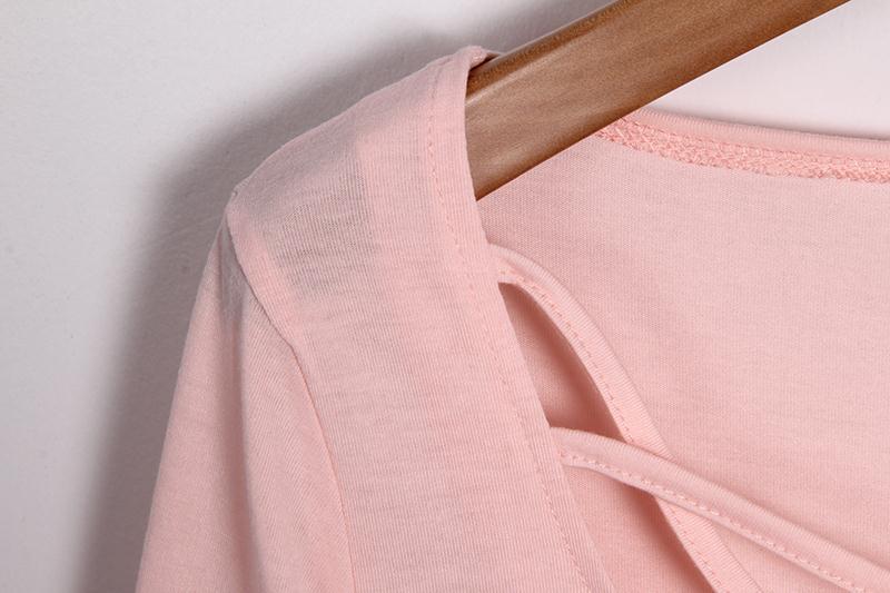 HTB10cHmMVXXXXbjaXXXq6xXFXXX9 - Autumn T Shirt Women Long Sleeve Slim Fit Solid