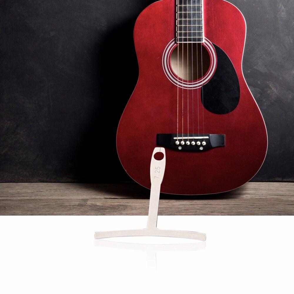 9 In 1 Understring Radius Gauge For Guitar Bass String Setup Luthier Tool M08