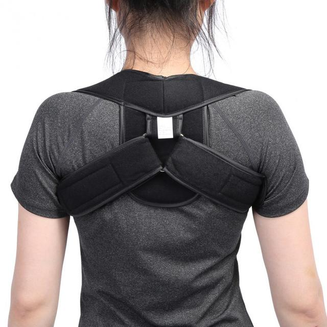 Black Posture brace 5c64ca34e9224