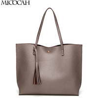 CHISPAULO Luxury Brand Women Shoulder Bag Large Capacity Solid Color TopHandle Bags Lady High Quality Tassel