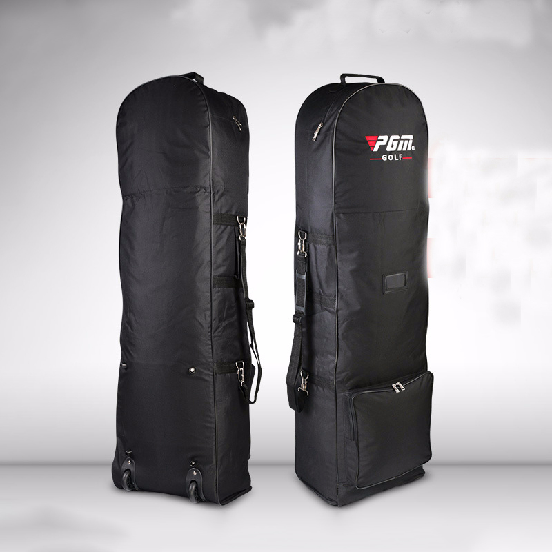 برو حقيبة غولف عجلات السفر سعة كبيرة حقيبة الطيران العملي دائم نادي الغولف أكياس كيس التخزين تناسب الرجال السيدات